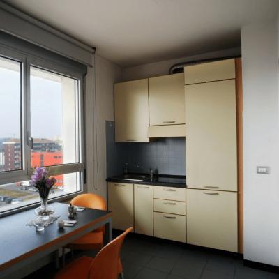 Camera-con-cucina-residence